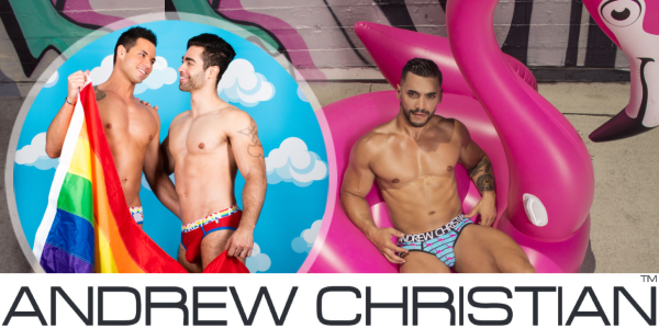 Andrew Christian - Gay-Underwear, Swimwear & Sportswear