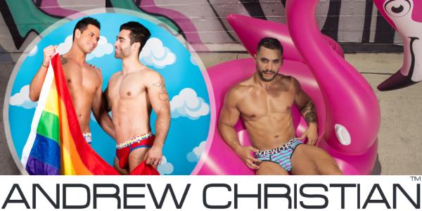 Andrew Christian - Gay-Underwear, Bademode & Sportbekleidung