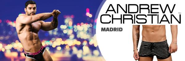 Andrew Christian @ XXX Madrid Store - Men\'s Underwear & Fashion