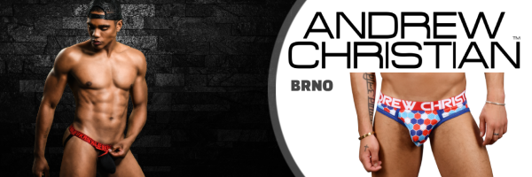 Andrew Christian @ Menage Brno-Shop: Gay-Shopping in Czech Republic