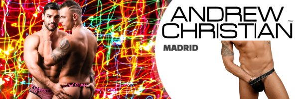 Andrew Christian @ XXX Madrid (Store San Marcos): Chueca\'s Shopping