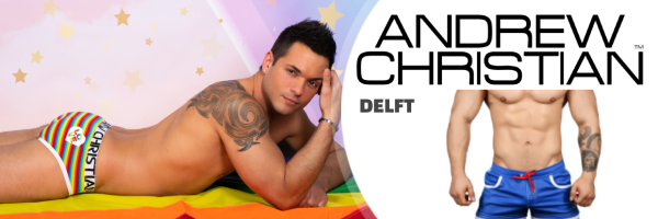 Andrew Christian @ Long John Bodywear: Delfts Gay Shopping Boutique