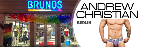 Andrew Christian @ Brunos Store - Gay Shopping Berlin