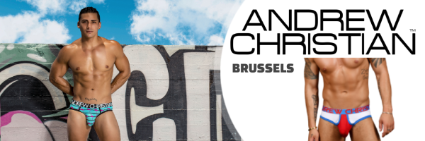 Andrew Christian @ 2Be Brussels - Gay Shopping Brussels