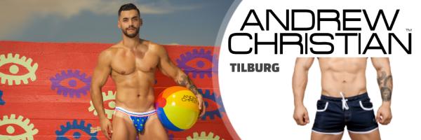 Andrew Christian @ BiBo Fashion Store: Tilburg\'s Gay-Shopping Hot Spot