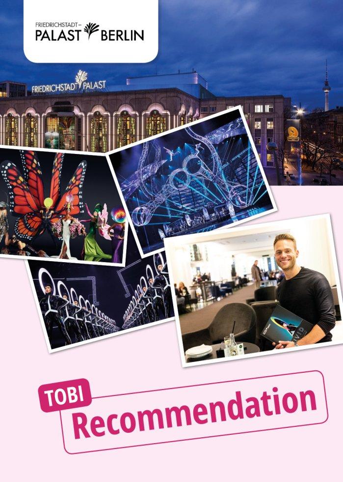 Friedrichstadt-Palast Berlin: Tobi visits VIVID Grand Show