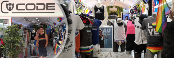Code Store - Your gay fashion store in Las Palmas Gran Canaria