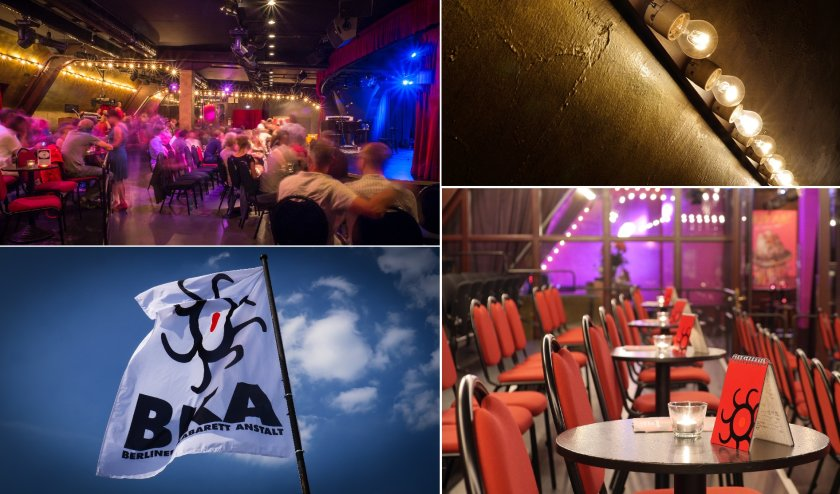 BKA Theater Berlin : Popular cabaret theatre on Mehringdamm