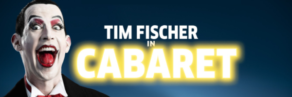 Tim Fischer in Cabaret @ Hansa Theater in Hamburg
