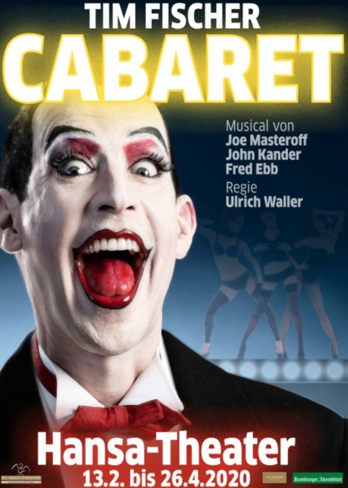 Tim Fischer in Cabaret @ Hansa Theater Hamburg
