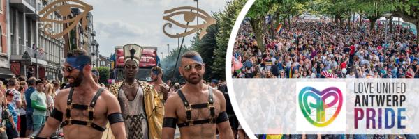 Antwerp Pride Parade - Christopher Ctreet Day in Antwerp