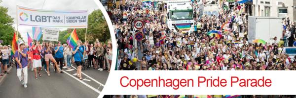 Copenhagen Pride Parade - Pride March in Copenhagen