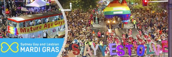 Sydney Gay and Lesbian Mardi Gras - Pride Parade in Sydney