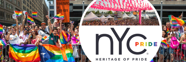 New York City Pride Festival - the biggest gay event in the USA