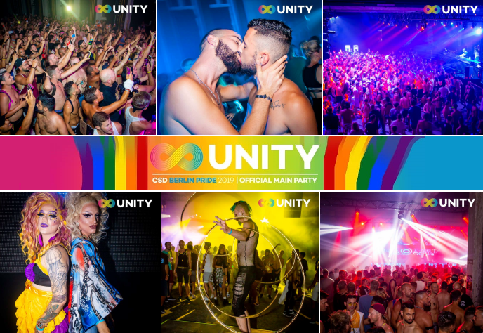 UNITY Pride - The best Gay Party at Berlin Pride