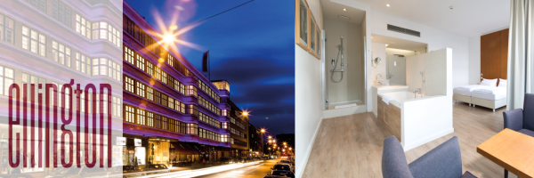 Ellington Hotel in Berlin - Hotelansicht und Suite