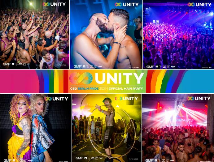 UNITY Pride 2019 @ Ritter Butzke - Berlin Pride Main Party