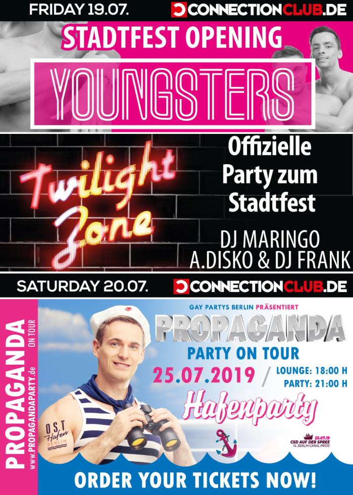 CSD Berlin Prideweek - Partys Connection Club Berlin