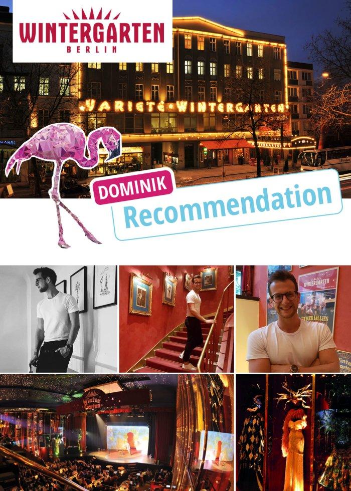 Wintergarten Berlin: Dominik tests Berlin\'s entertainment hot spot
