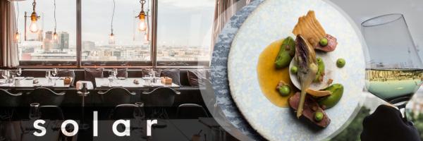 SOLAR Sky-Lounge & Restaurant - gayfriendly Restaurant in Berlin