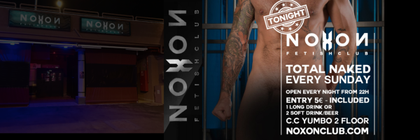 Naked Sunday at Noxon Gay & Fetishclub Maspalomas