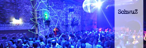 Party im SchwuZ Berlin - main floor