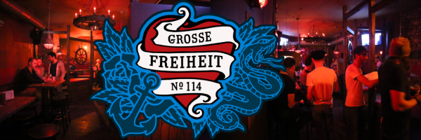 2 for 1 Happy Hour always Wednesdays @ Grosse Freiheit 114