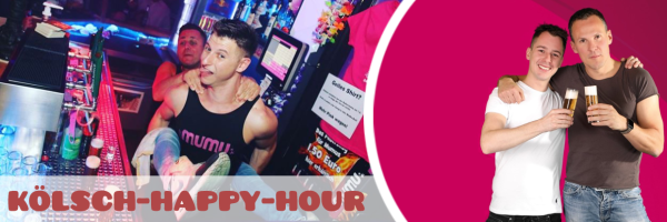 Die Mumu Happy Hour - Daily from 19:00 to 21:00 Kölsch for 1 EUR