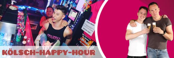 Die Mumu Happy Hour - Täglich von 19:00 bis 21:00 Uhr Kölsch für 1 EUR