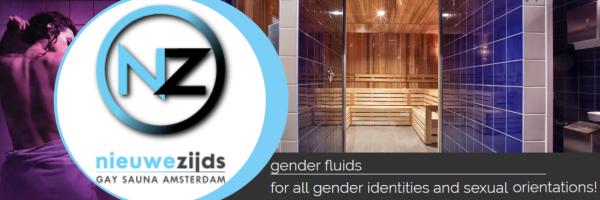 Gender Fluids @ Sauna Nieuwezijds - mixed Sauna in Amsterdam