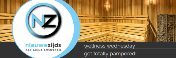 Every Wednesday wellness day in the sauna Nieuwezijds Amsterdam