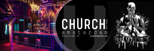 cumUnion @ Club Church International sex party for men in Amsterdam