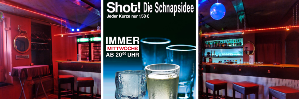 Shot Happy Hour - every Wednesday @ Contact Mens Bar Hamburg