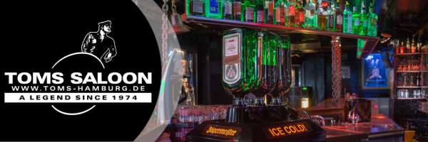 Two for One Drinks Special @ Toms Saloon: Every Monday