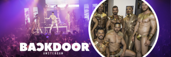 BACKDOOR Amsterdam - The Gay Event in the Netherlands