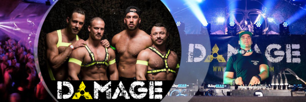 Damage - The biggest cruising, dance and fetish party in Amsterdam