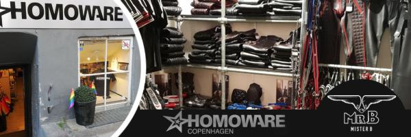 Mister B @ Homoware - Dein Mister B Concept store in Kopenhagen
