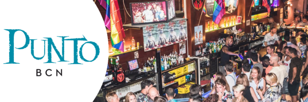 Punto BCN - popular gay bar of the Grupo Arena in Barcelona
