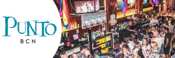 Punto BCN - beliebte Gay Bar der Grupo Arena in Barcelona