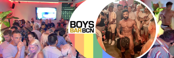 BoysBar BCN - Every Friday Men´s Strip Show in Barcelona