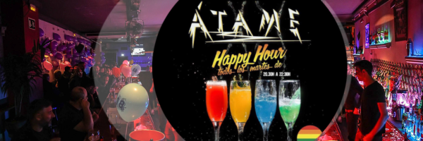 Happy Hour every Tuesday at the Atame Gay-Bar Barcelona