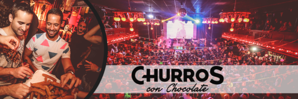 Churros con Chocolate - Gay Party on Sunday afternoon in Barcelona