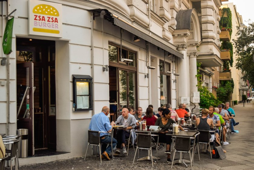 Zsa Zsa Burger - The meeting point of the LBGT Community in Motzstraße