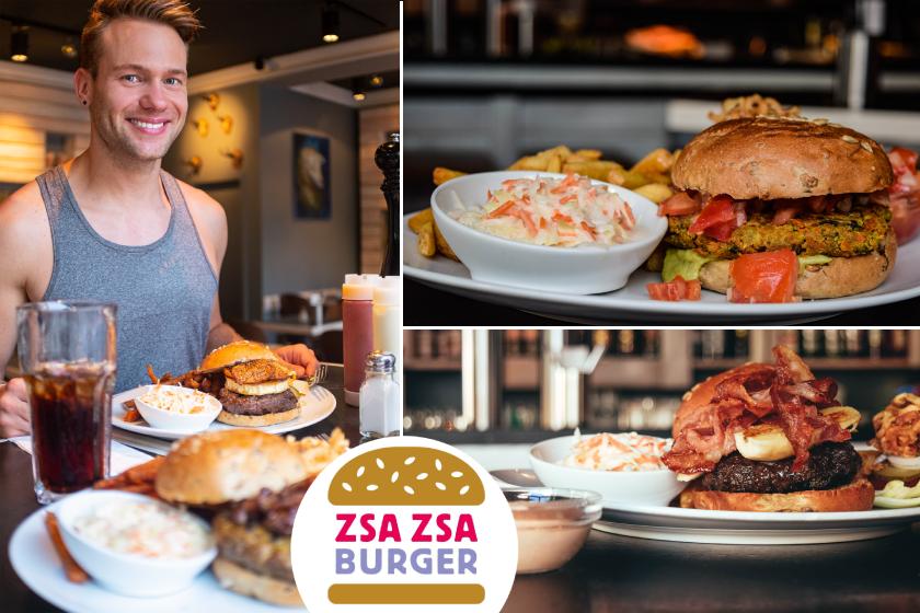 Zsa Zsa Burger - The popular burger shop in Motzstraße