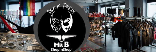 Mister B Shop in the Shop @ Black Dream Fetish Store in Budapest
