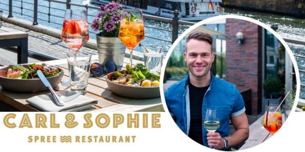 Carl&Sophie: Tobi empfiehlt das Spreerestaurant in Moabit