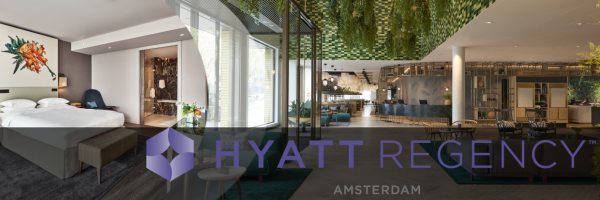 Hyatt Regency Amsterdam - gay friendly luxury hotel in Amsterdam