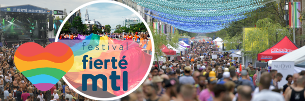 Fierté Montréal Pride - LGBT Festival in Canada - Montreal