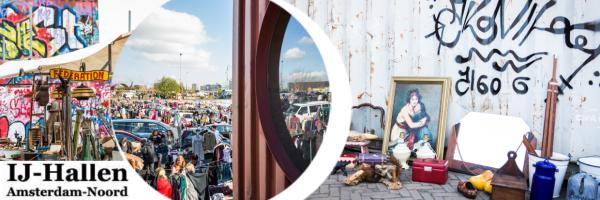 IJ-Hallen - Europe\'s largest monthly flea market in Amsterdam
