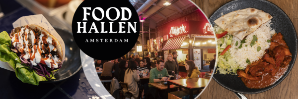 Foodhallen Amsterdam - Indoor-Food-Markt in Amserdam